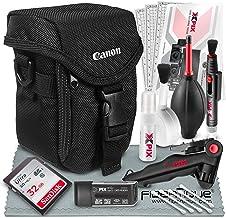 Canon Camcorder Case (2341V366) for Canon VIXIA HF W10, W11, R800 R80, R82, R700, R72, R600, R62 and HF R70 Cameras + 32GB and Xpix Essential Accessories.