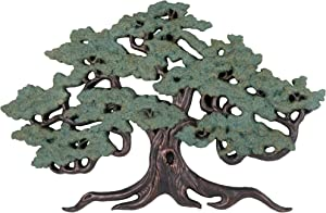 Design Toscano NG32454  Asian Decor Ancient Tree of Life Wall Sculpture, 37 Inch, Bronze Verdigris Finish