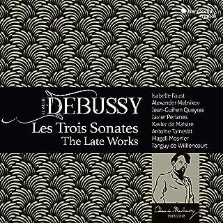 ドビュッシー : 最後の3つのソナタ集 / イザベル・ファウスト 他 (Debussy: The Late Works / Isabelle Faust etc.) [CD] [Import] [日本語帯・解説付]