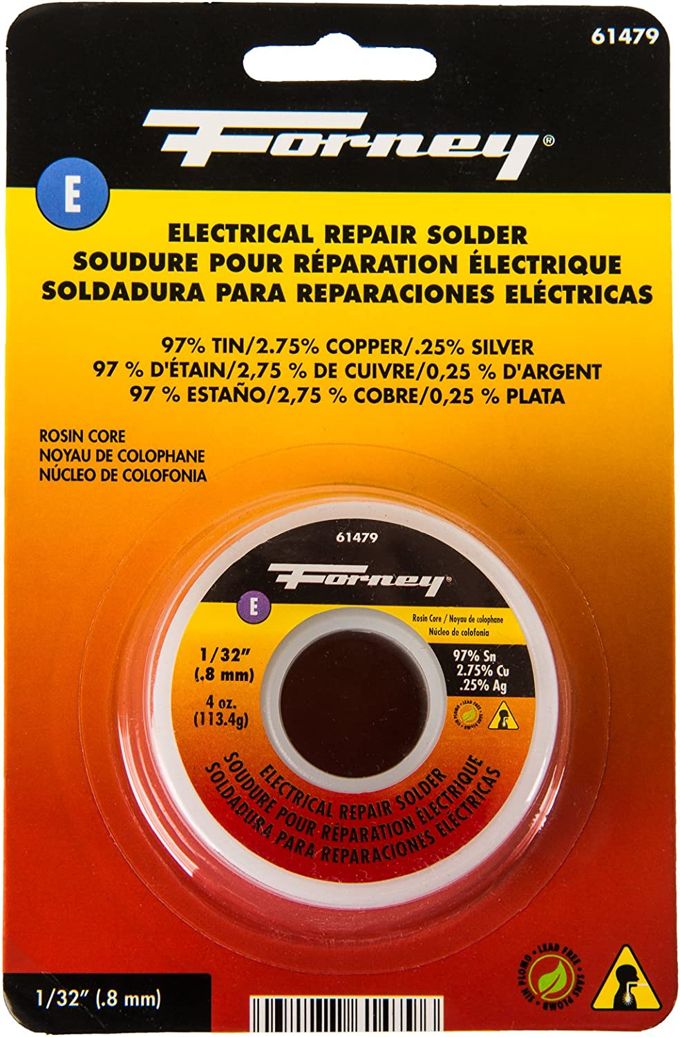 Forney 61479 Lead Free 1 NEW before selling ☆ Quantity limited Solder Rosin 32
