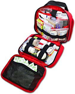 Lightning X Premium Rip-Away Individual First Aid Kit for Vehicle Head Rest
