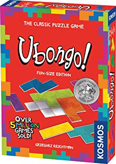 Ubongo Fun-Size Edition - A Kosmos Game from Thames & Kosmos | Geometric Puzzle Game for Kids & Families | for Ages 7+, Portable Format
