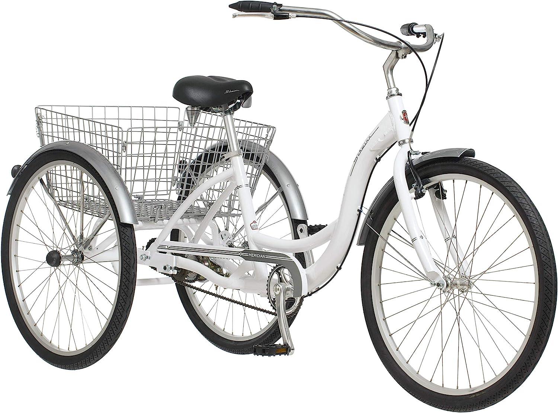 Schwinn white Meridian adult tricycle