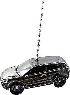 Range Rover - Land Rover Cars & Trucks Diecast Ceiling Light Fan Pulls, Keychains, Christmas Ornaments 1:64 - (2016 Range Rover Evoque - Black)