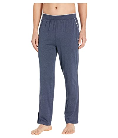 Tommy Bahama Cotton Modal Heather Lounge Pants (Navy Heather) Men