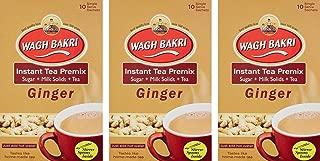 Wagh Bakri Ginger Instant Tea Premix 140g (Pack of 3)