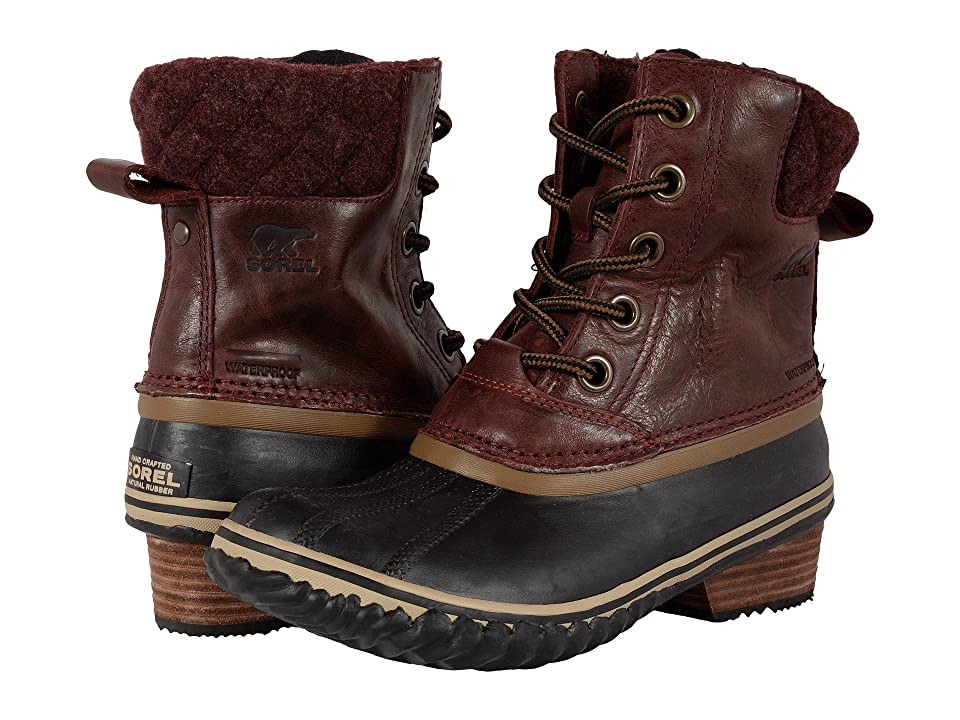 SOREL Slimpack II Lace (Redwood) Women