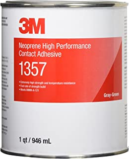 3M Neoprene High Performance Contact Adhesive 1357, Gray-Green