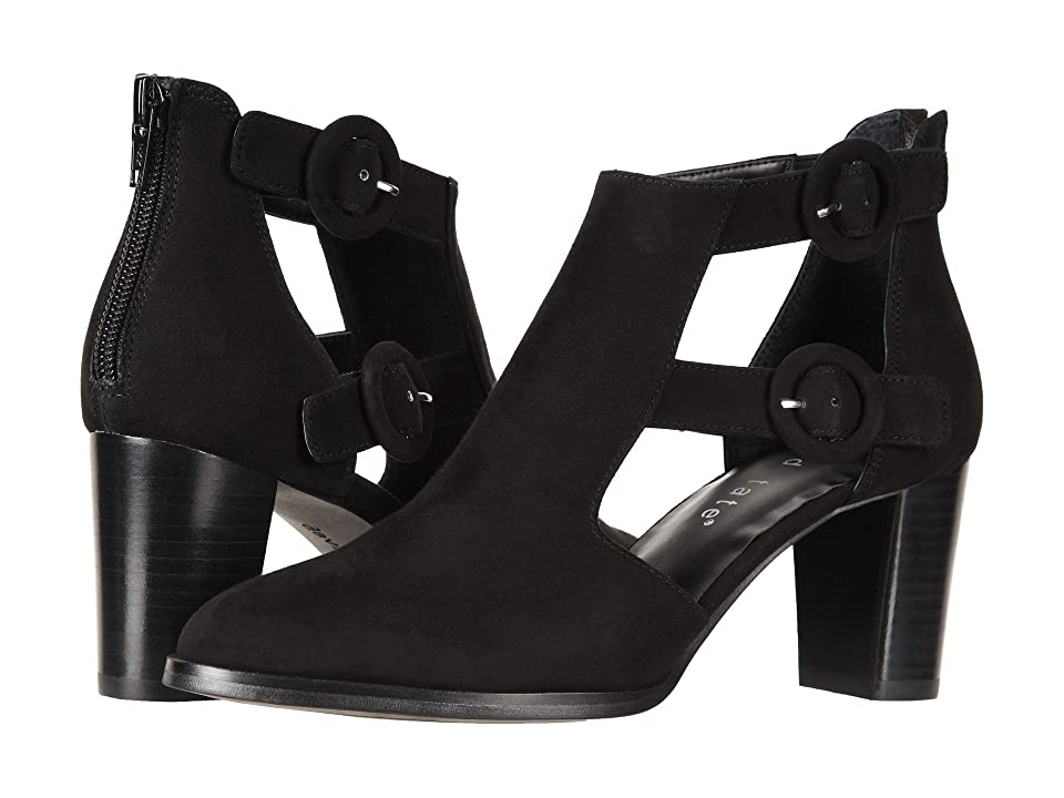 David Tate Exotic (Black Suede) Women