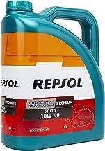 Repsol RP080X55 Premium Gti/Tdi 10W-40 Aceite de Motor para Coche, Multicolor, 5 L
