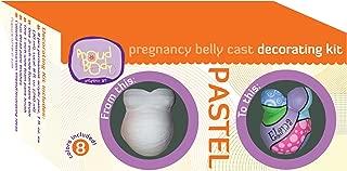 Proudbody Pregnancy Belly Cast Decorating Kit, Pastel