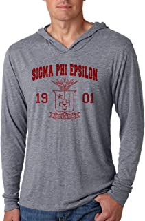 c45488cd2bcd Sigma Phi Epsilon SigEp Triblend Long-Sleeve Hoodie