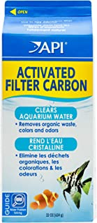 API Activated Filter Carbon, Removes dissolved Organic Waste, Colors, Odors, Improves Water Clarity, Use routinely in Any Aquarium Filter