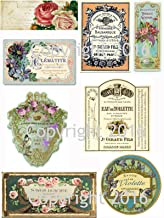Best free vintage french labels Reviews