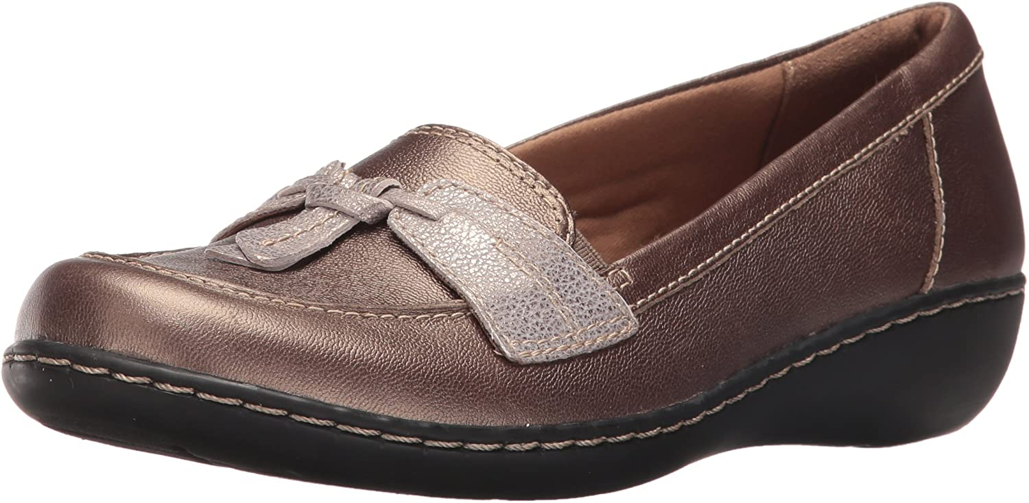 Clarks Damen Ashland Bubble, metallisch 42 M EU
