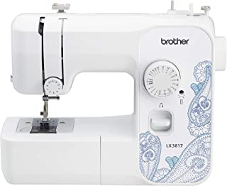 Brother RLX3817 Full Size Sewing Machine, White (Renewed)