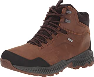 Merrell Men's FORESTBOUND MID WP Hiking Boot, Black, 9.5 M US
