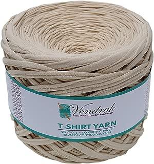knitting with fabric yarn