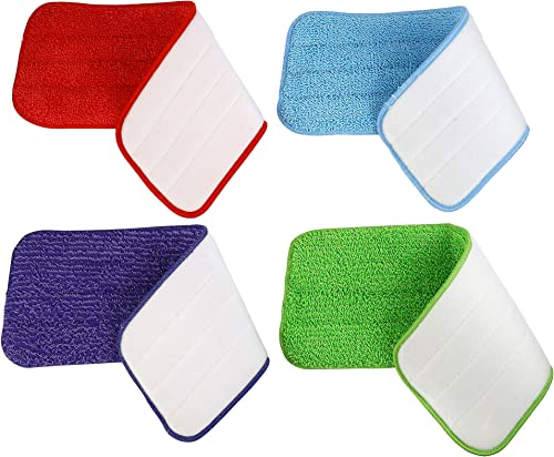 Aynoo Reveal Mop Microfiber Cleaning Replacement Pads for Spray Mops and Reveal Mops Wet Mop Dry Mop for Home and Com...