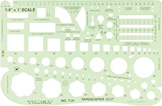 Timely 1/4-Inch Landscape Template (T31)