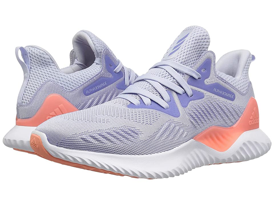 adidas Kids Alphabounce Beyond (Big Kid) (Aero Blue/Chalk Purple/White) Girls Shoes