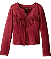 Ella Moss Girl - Cali Suede Fringe Jacket (Big Kids)