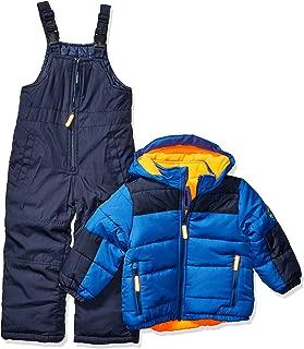 Boys' Toddler Ski Jacket and Snowbib Snowsuit Set