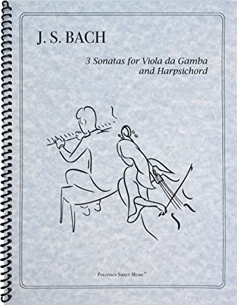 Bach - 3 Sonatas for Piano and Cello by Johann Sebastian Bach (2012-08-02)