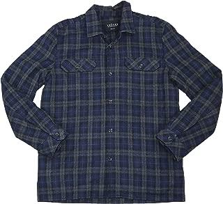 Bowman Plaid Shirt Style Button Front Jacket