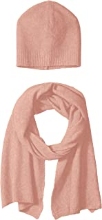 bela.nyc Women's Wool Blend Beanie and Scarf Gift Set