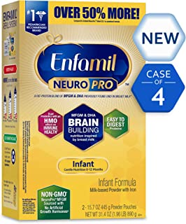 Enfamil NeuroPro Infant Formula- Brain Building Nutrition Inspired by Breast Milk, Milk..