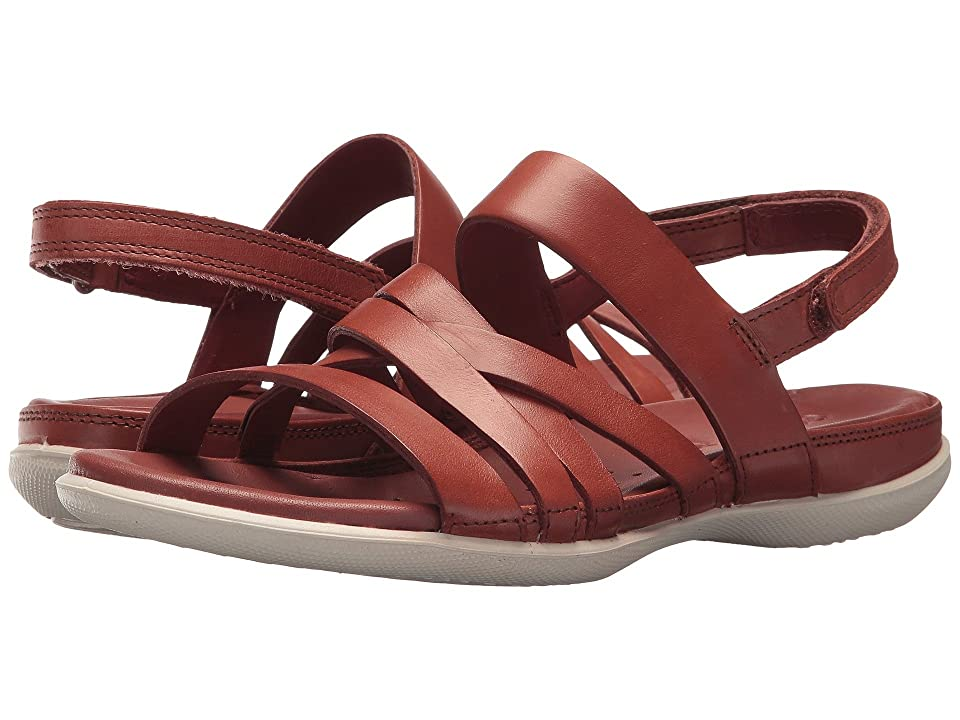 ECCO Flash Casual Sandal (Rust Cow Leather) Women
