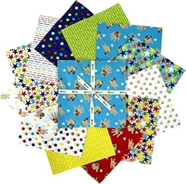 Clothworks You Are Amazing Quilt Fabric 10in Squares 42 Pcs