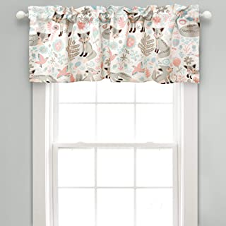 Lush Decor Pixie Fox Room Darkening Window Valance, 18