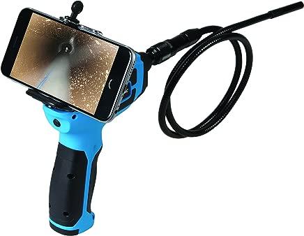Silverline Tools 725352 1080 720 Pixels Wi-Fi Video Inspection Camera  Blue