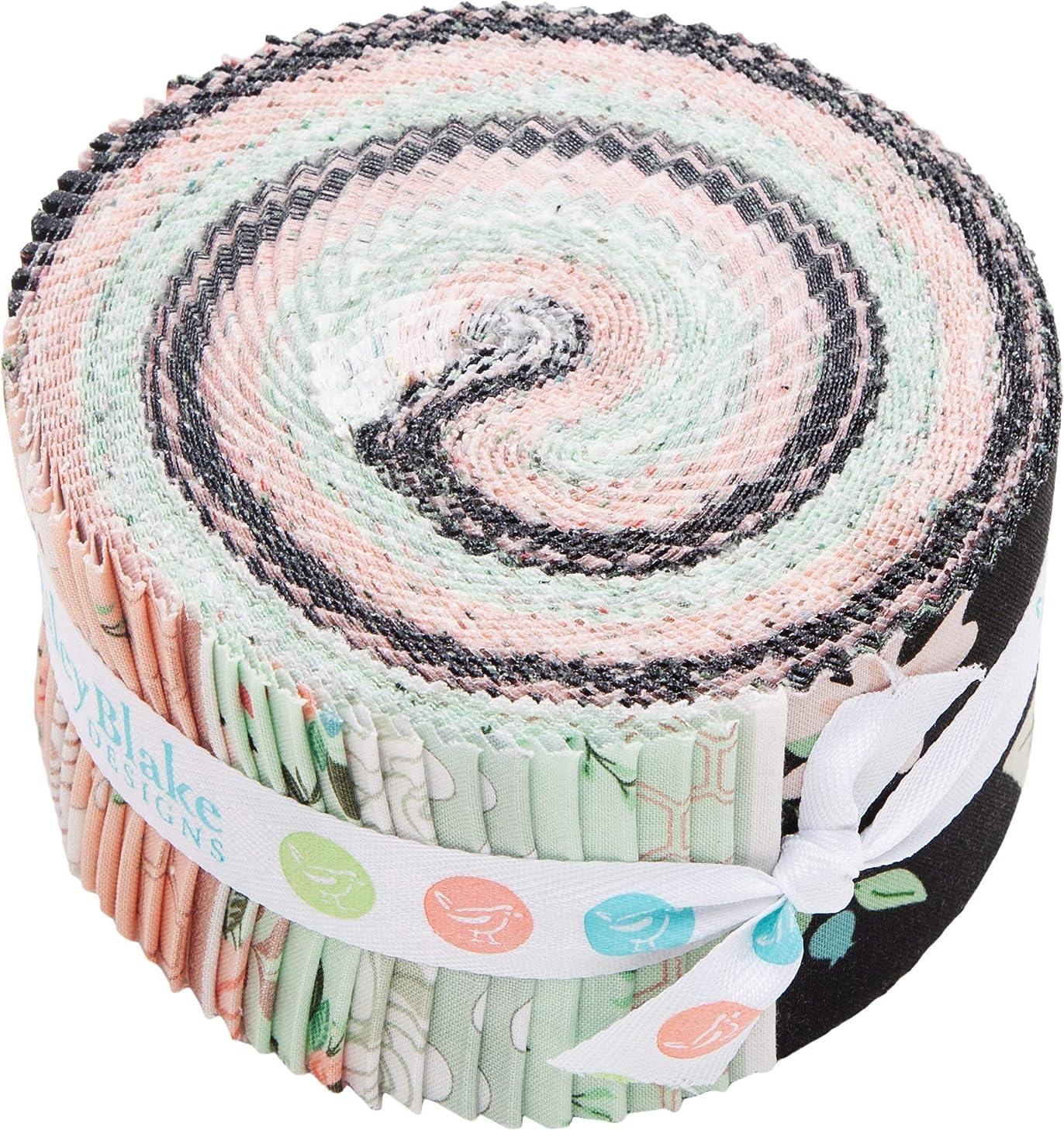 Jen Allyson Bliss Rolie Polie 40 2.5-inch Strips Jelly Roll Riley Blake Designs RP-8160-40