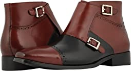 Kason Cap Toe Double Monkstrap Boot