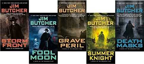 The Dresden Files, Books 1-5 (Storm Front/Fool Moon/Grave Peril/Summer Night/Death Masks)