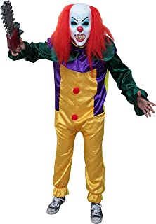 Killer Prank Clown Costume Adult (Choose Size)