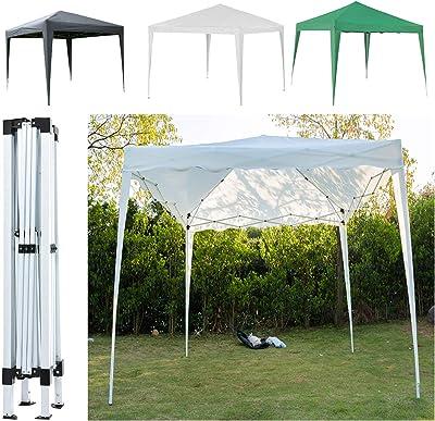 SiKy - Cenador plegable para jardín, 3 x 3 m, resistente al agua, resistente al agua, para fiestas, bodas, protección UV + bolsa de transporte, color beige, tamaño pop up gazebo tent: Amazon.es: Jardín