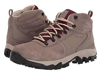 Columbia Newton Ridge Plus II Suede WP (Pebble/Deep Rust) Men