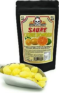 Saure Citrus Bomben - sauer - 200g - Hotskala: 0 - RED DEVILS TASTE