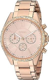 Women's Modern Courier Stainless Steel Chronograph Dress Quartz Watch