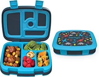 Bentgo - Lonchera a prueba de fugas para niños, 5 compartimentos, estilo Bento, tamaño de porción ideal para edades de 3 a...