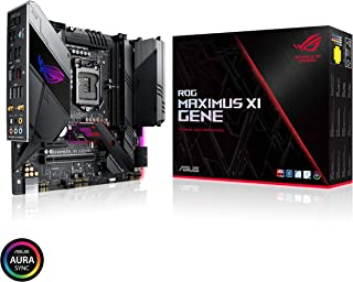 ASUS ROG Maximus XI Gene Z390 LGA1151 (Intel 8th and 9th Gen) Micro ATX DDR4 HDMI M.2 USB 3.1 Gen2 Formato (mATX) Gaming Motherboard