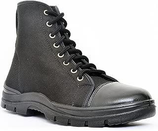 Allen Cooper AC 7045 Jungle Boot, DIP-PU Sole, Size - 5 UK, Black