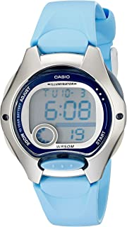 Casio Women's LW200-2BV Digital Blue Resin Strap Watch