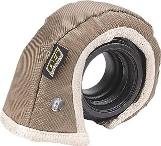 Design Engineering 010144 T4 Titanium Turbo Shield - Custom Fit Turbo Blanket, 22
