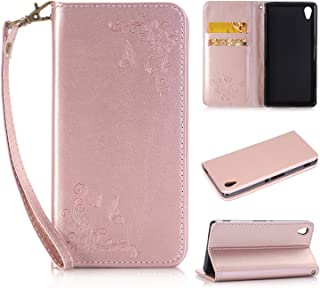 Le soulagement Art Fleur de Papillon Image Etui Housse Cuir PU Portefeuille Folio Flip Case Cover Wallet Coque Protection /Étui avec Flex Soft Silicone TPU Coque Etui Housse pour Sony Xperia Z3,Cozy Hut/® Bookstyle /Étui Housse en Cuir Case