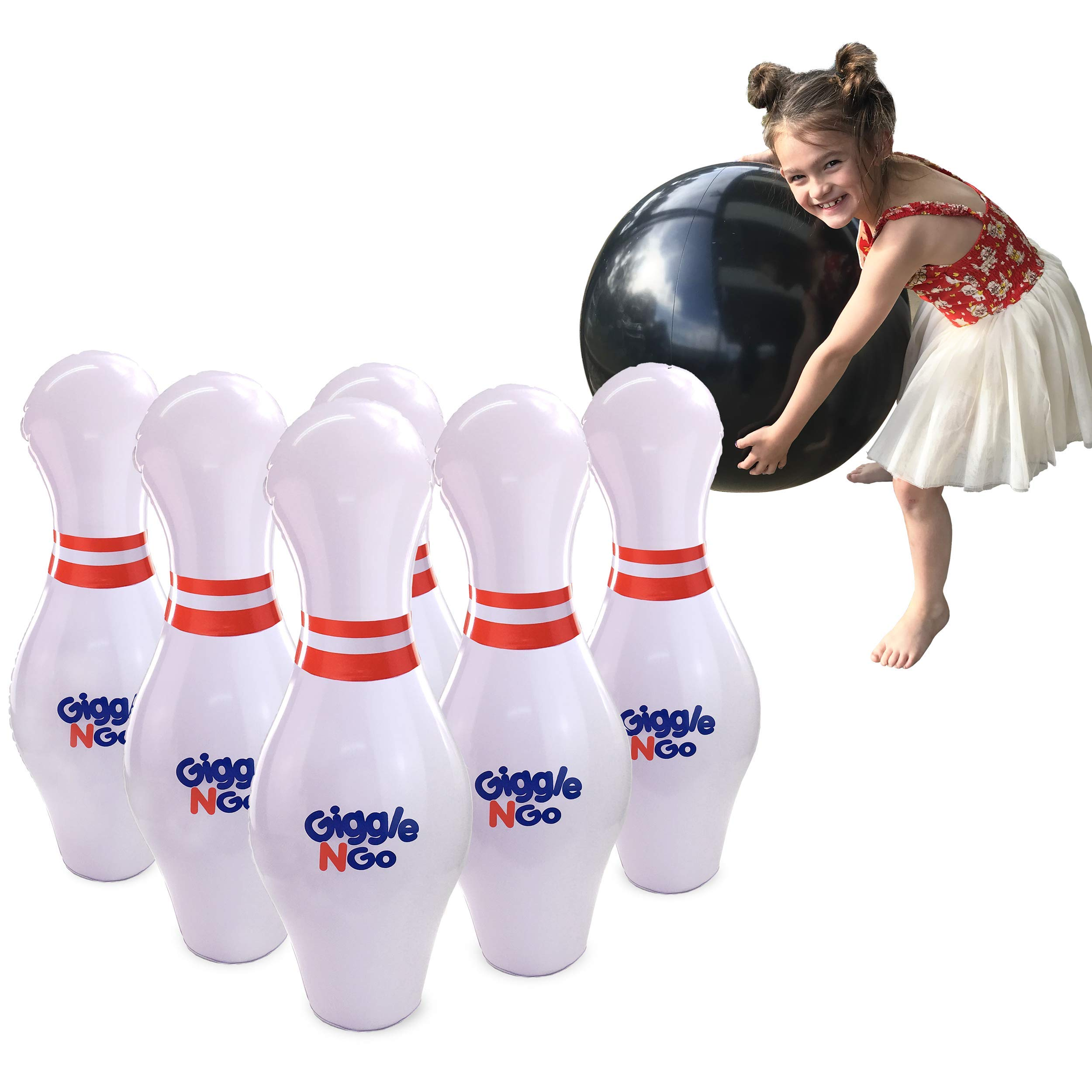 GIGGLE GO Inflatable Bowling Kids